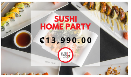 SUSHI HOME PARTY