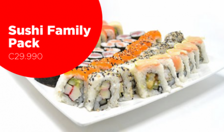 SUSHI FAMILY PACK