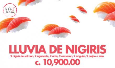 Lluvia de Nigiri
