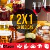 Bebidas 2x1