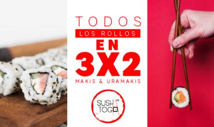3x2 EN TODOS LOS ROLLOS